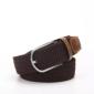 新款涤纶编织腰带外贸腰带多色选择防过敏腰带